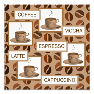 coffee photo print
