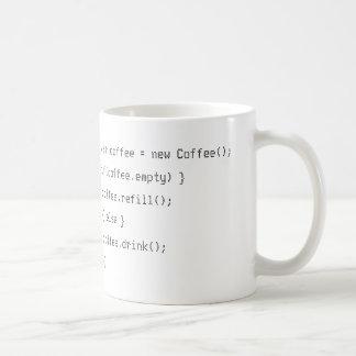 Coffee PHP developer funny Classic White Coffee Mug