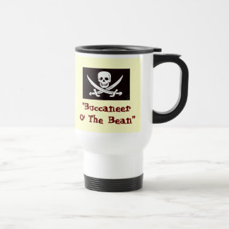 Coffee Pirates 15 Oz Stainless Steel Travel Mug