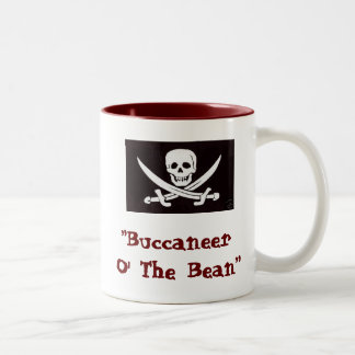 Coffee Pirates Two-Tone Coffee Mug