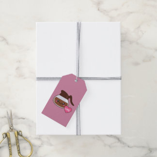 Coffee Pot Love (pink background) Gift Tags