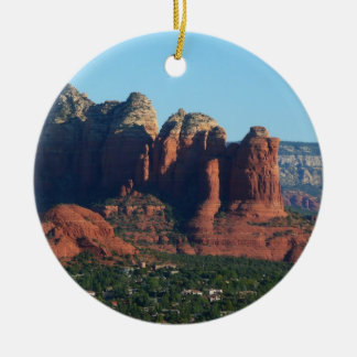 Coffee Pot Rock I in Sedona Arizona Ceramic Ornament