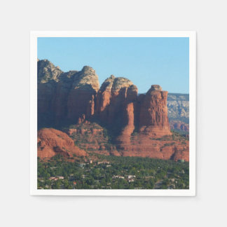 Coffee Pot Rock I in Sedona Arizona Disposable Napkins