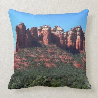 Coffee Pot Rock II in Sedona Arizona Throw Pillow