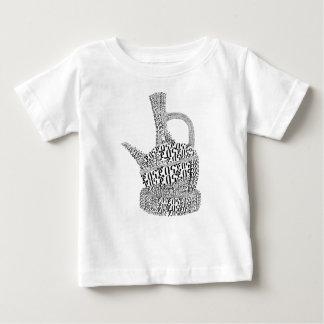 Coffee Pot Text Design Baby T-Shirt