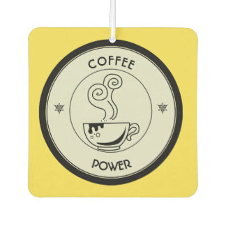 Coffee Power Air Freshener