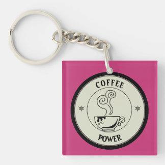 Coffee Power Keychain