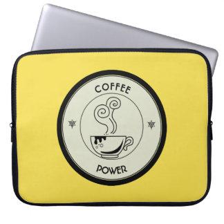 Coffee Power Laptop Sleeve
