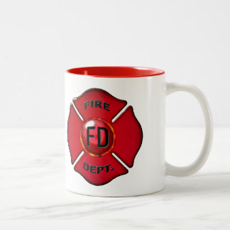 Coffee Powered Fire Fighting Beast Mug