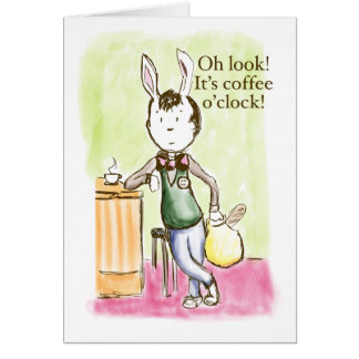 Coffee Rabbit Card