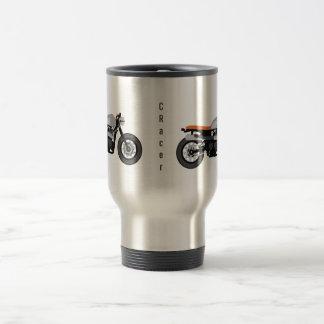 Coffee Racer/Brat Bike Motorcycle Travel Mug