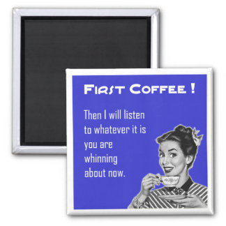 Coffee Retro - Magnet
