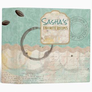 Coffee Rings Recipe Binder