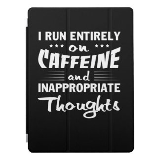 Coffee Run Caffeine Inappropriate Thoughts iPad Pro Cover