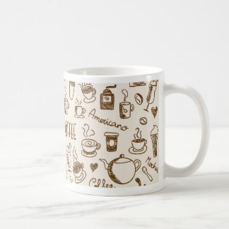 Coffee Scribble Coffee Mug