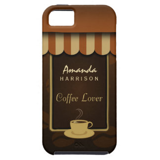 Coffee Shop Brown Coffee Lover iPhone 5 Vibe Case
