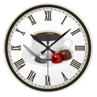 Coffee Shop chocolate home business office clock
