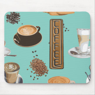 Coffee shop mousepad