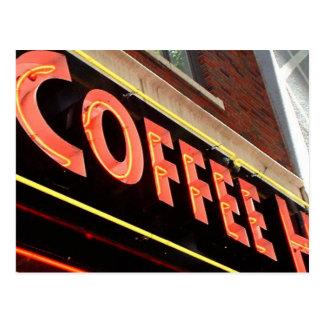Coffee Shop Postcard