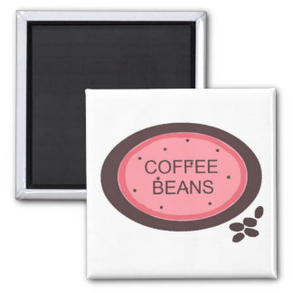 Coffee Sign Square Magnet