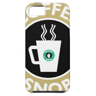 Coffee Snob, Coffee Humor iPhone 5 Case
