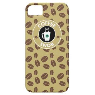 Coffee Snob, Coffee Humor iPhone 5 Cover