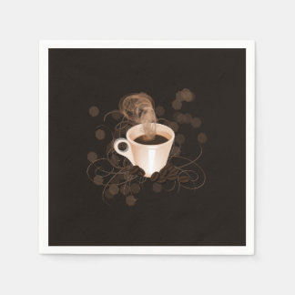 Coffee Splash Paper Napkin