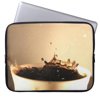 Coffee Splashes Laptop Sleeve