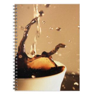 Coffee Splashes Notebook