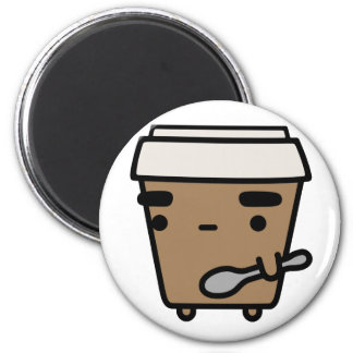 Coffee & Spoon Refrigerator Magnets