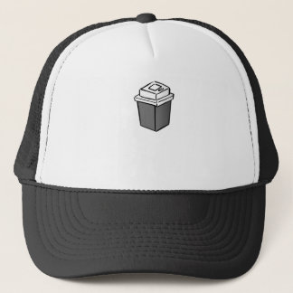 Coffee Square Trucker Hat