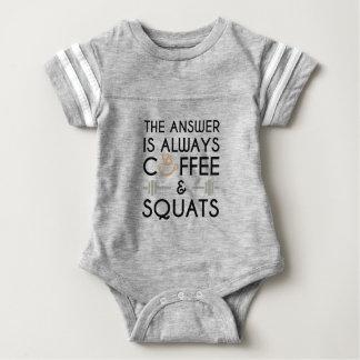 Coffee & Squats 2 Baby Bodysuit