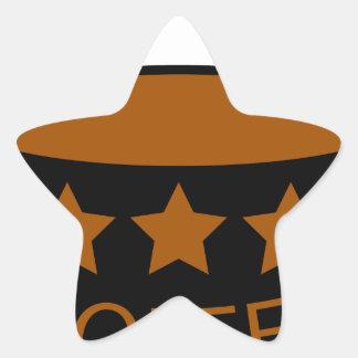 Coffee Star Sticker