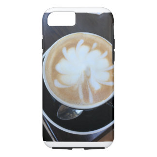 Coffee Starburst iPhone 7 Case