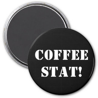 COFFEE STAT MAGNET