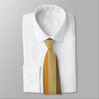 Coffee Stripes Tie