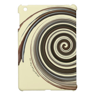 Coffee Swirl Case For The iPad Mini