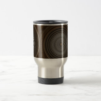 Coffee Swirl Travel Mug