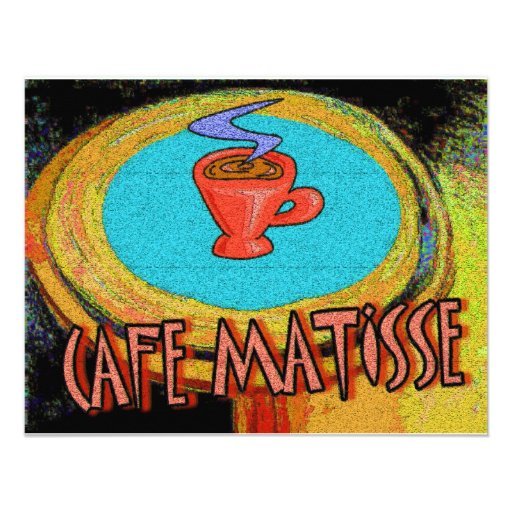 Coffee Table Matisse cafe Invites