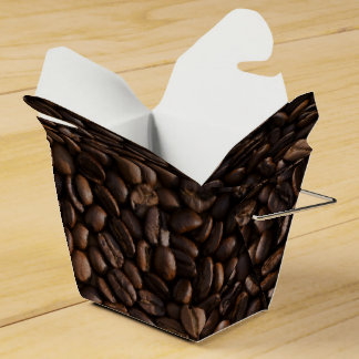 Coffee Take-out box Wedding Favor Boxes