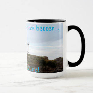Coffee tastes better in York Maine Mug