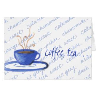 Coffee, Tea or Me? Card