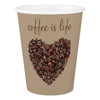 Coffee Theme Paper Cup