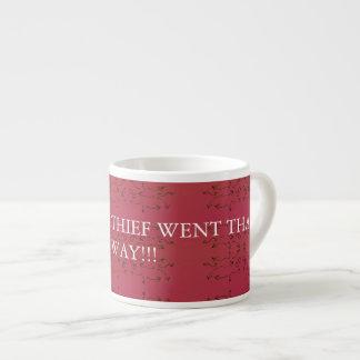 Coffee Thief Espresso Cup