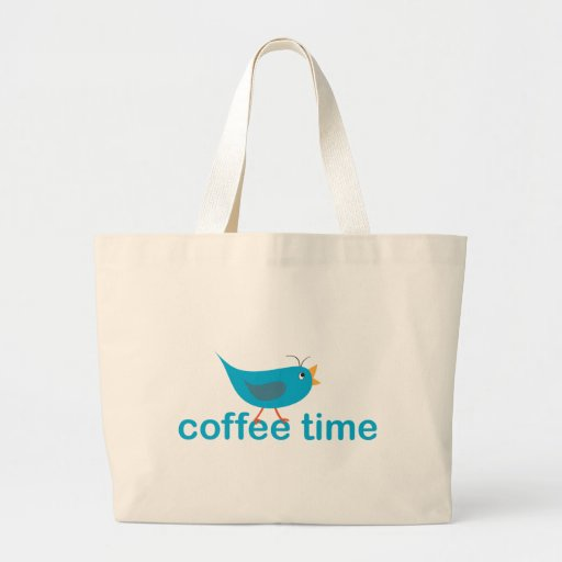 coffee-time canvas bags