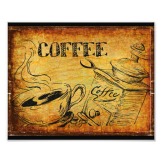 Coffee Time Breakfast Photo Print