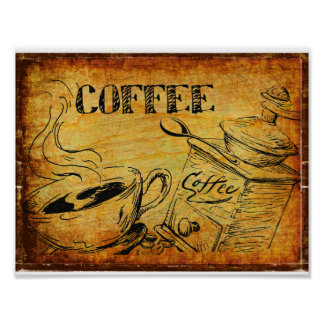 Coffee Time Breakfast Poster