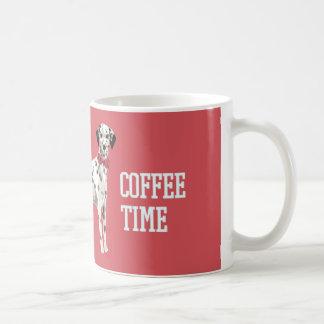 COFFEE TIME DALMATION COFFEE MUG