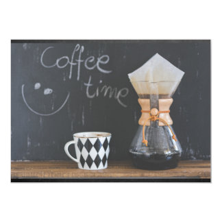 Coffee Time Get Together Party Card