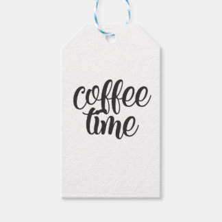 Coffee Time Gift Tags